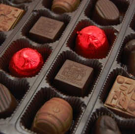 Belgian Chocolate Spirited Celebration