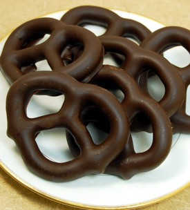 Vegan Chocolate Pretzels
