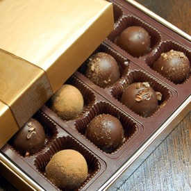 Vegan Chocolate Truffles Genevieve<sup>tm</sup>